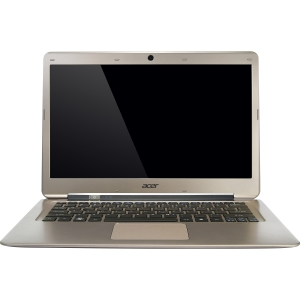 "Acer Aspire S3-391-323a4G52add 13.3"" LED Ultrabook - Intel Core i3 i3-2377M 1.50 GHz - 1366 x 768 HD Display - 4 GB RAM - 500 GB HDD - 20 GB SSD - Intel Graphics - Bluetooth - Webcam - Genuine Windows 7 Home Premium - 5.50 Hour Battery - HDMI"