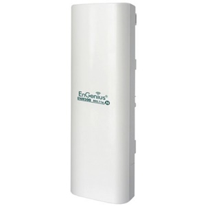 EnGenius ENH500 High-powered Wireless N 300Mbps 5GHz Outdoor Client/Bridge - 25km Maximum Range - 1 Pack