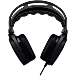 Razer Tiamat Elite 7.1 Surround Sound Analog Gaming Headset - Surround - Mini-phone - Wired - 32 Ohm - 20 Hz - 20 kHz - Over-the-head - Binaural - Ear-cup - 9.84 ft Cable - Noise Filtering Microphone