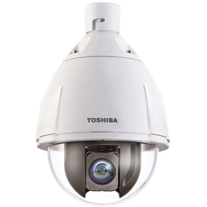 Toshiba Surveillance/Network Camera - Color - 20x Optical - CMOS - Cable - Fast Ethernet