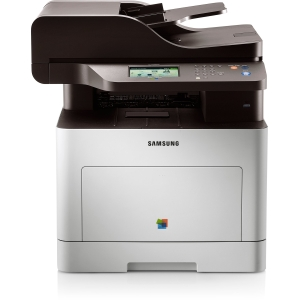 Samsung CLX-6260FW Laser Multifunction Printer - Color - Plain Paper Print - Desktop - Printer, Copier, Scanner, Fax - 25 ppm Mono/25 ppm Color Print - 9600 x 600 dpi Print - 25 cpm Mono/25 cpm Color Copy - Touchscreen LCD - 1200 dpi Optical Scan - Automa