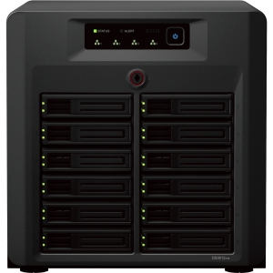 Synology DiskStation DS3612xs Network Storage Server - 3.10 GHz - USB, RJ-45 Network, Serial, HD-15 VGA, eSATA