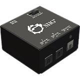 SIIG 2x1 S/PDIF TOSLINK Digital Audio Switch - 2 x Toslink S/PDIF In, 1 x Toslink S/PDIF Out