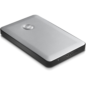G-Technology G-DRIVE mobile 1 TB External Hard Drive - Silver - FireWire/i.LINK 800, USB 2.0 - SATA - 5400 rpm - 32 MB Buffer