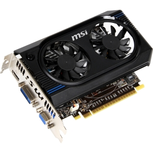 MSI GeForce GT 640 Graphic Card - 900 MHz Core - 1 GB DDR3 SDRAM - PCI Express 3.0 - 1334 MHz Memory Clock - Fan Cooler - DirectX 11.0, OpenGL 4.2 - HDMI - DVI - VGA