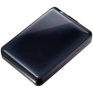 "Buffalo MiniStation Plus HD-PNTU3 HD-PNT2.0U3GB 2 TB 2.5"" External Hard Drive - 1 Pack - Black - USB 3.0 - SATA - 5400 rpm"