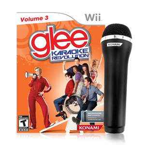 Karaoke Revolution Glee: Volume 3 Bundle (Nintendo Wii)