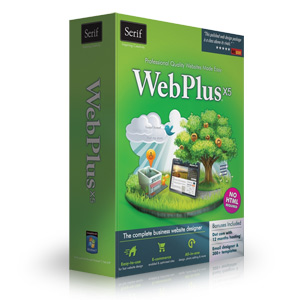 Serif WebPlus X5 - Professional Sites Made Easy