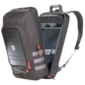 "Pelican Urban U105 Carrying Case (Backpack) for 15.4"" Notebook, iPad, Tablet PC - Black - Water Resistant - ABS, Polyester, Polyurethane, Polypropylene"