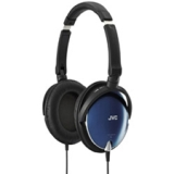 JVC HA-S600 Headphone - Stereo - Blue - Mini-phone - Wired - 36 Ohm - 8 Hz 25 kHz - Gold Plated - Over-the-head - Binaural - Ear-cup - 3.94 ft Cable