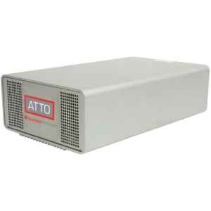 ATTO ThunderStream SC 3808D - Serial Attached SCSI (SAS), Serial ATA/600 - Thunderbolt - Desktop - RAID Supported - 0, 1, 5, 6, 10 RAID Level
