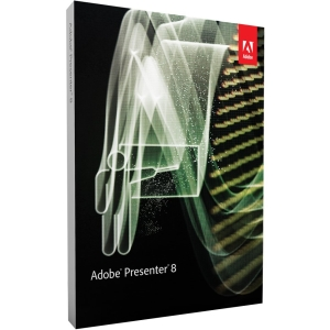 Adobe Presenter v.8.0 - Complete Product - 1 User - Presentation - Standard Retail - DVD-ROM - PC