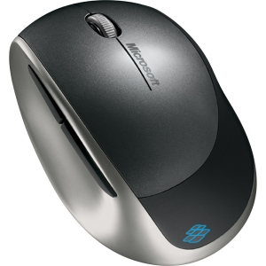Microsoft Explorer Mouse - BlueTrack - Wireless - Radio Frequency - Sangria Red - USB - Tilt Wheel
