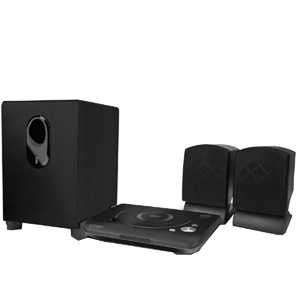 Coby DVD420 Home Theater System - DVD Player, 2.1 Speakers - Progressive Scan - 75W RMS - Dolby Digital