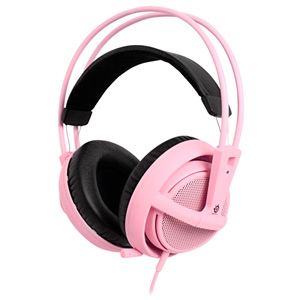 SteelSeries Siberia v2 Full Size Stereo Headset - Pink