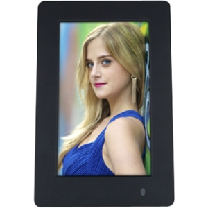 "Viewsonic 6"" PortraitView Digital Photo Frame - 6"" LED Digital Frame - 800 x 480 - 16:9 - JPEG - Slideshow - Desktop"