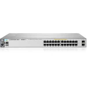 HP E3800-24G-PoE+-2SFP+ Layer 3 Switch - 24 Ports - Manageable - 24 x POE+ - Stack Port - 2 x Expansion Slots - 10/100/1000Base-T - PoE Ports