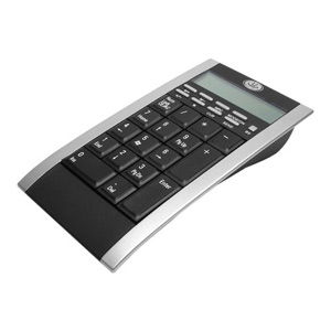 Gear Head 26-Key Calculator Keypad w/ 2-Port USB Hub and Retractable USB Cable
