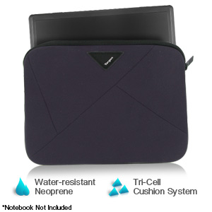 "Targus A7 Slipcase Designed to Protect up to 16"" Notebooks (Dark Purple) - TSS12701US"