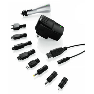 Image of Travel Smart by Conair USB Car & Power Adapter (For Worldwide Use)