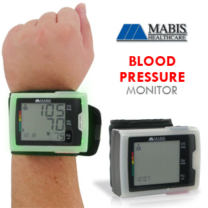 Mabis Multi Tech Wrist Blood Pressure Monitor (04-794-001)