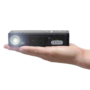 AAXA Technologies Pico P4-X DLP Pocket Size Projector - 95 Lumen LED, HDMI, Media Player