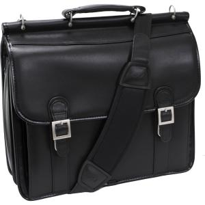 "McKleinUSA Carrying Case (Sleeve) for 15.4"" Notebook - Black - Shock Absorbing - Leather"