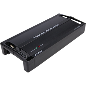 Power Acoustik Razor RZ4-1200D Car Amplifier - 1200 W PMPO - 4 Channel - Class D - Bridgeable - MOSFET Power Supply - 4 x 100 W @ 4 Ohm - 4 x 150 W @ 2 Ohm