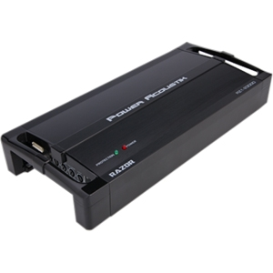 Power Acoustik Razor RZ1-1500D Car Amplifier - 1500 W PMPO - 1 Channel - Class D - MOSFET Power Supply - 600 W @ 4 Ohm - 900 W @ 2 Ohm