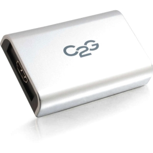 C2G USB to HDMI Adapter with Audio Up To 1080p - 1 x Type B Female USB - 1 x HDMI Female Digital Audio/Video - Gray