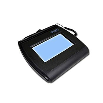 Topaz SigLite T-LBK750 Electronic Signature Capture Pad - Backlit LCDUSB, Serial