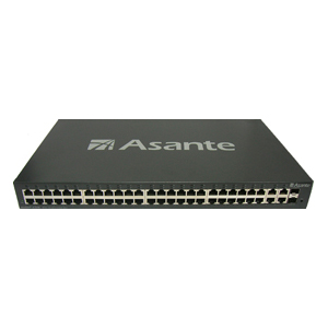Asante IntraCore IC3648 L2 Management Switch - 4 x SFP (mini-GBIC) - 48 x 10/100Base-TX, 4 x 1000Base-T