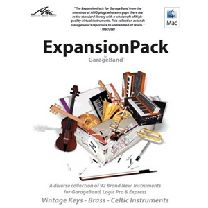 EXPANSIONPACK FOR GARAGEBAND LOGIC OR LOGIC EXPRESS