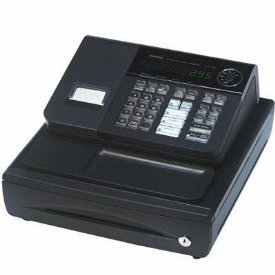 CASH REGISTER W/58MM THERM PRNT 5 DPT KEY/20 DPT W/SHIFT/CUST DISP