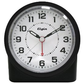 BATTERY ANALOG ALARM CLOCK
