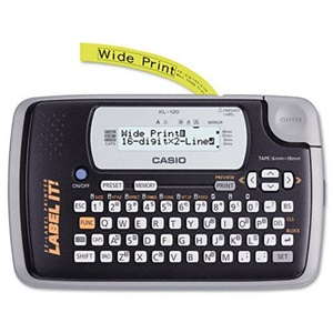 CASIO KL-120-L EZ Label Portable Printer (Label Maker)