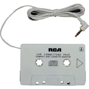 Image of Audiovox Cassette Adapter for MP3/CD Player