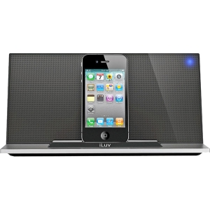 STEREO SPEAKER DOCK - BLACK FOR IPHONE / IPOD