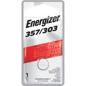 ENERGIZER 357 3V BATTERY 1-PK ZERO MERCURY