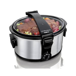 Hamilton Beach Stay or Go Cooker & Steamer
