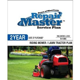2-YR DOP RIDING MOWER/TRACTOR UNDER $3000