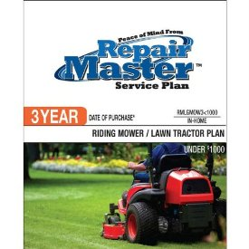 3-YR DOP RIDING MOWER/TRACTOR UNDER $1000