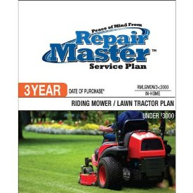 3-YR DOP RIDING MOWER/TRACTOR UNDER $3000