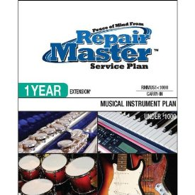 1-YR EXT MUSICAL INSTRUMENTS UNDER $1000