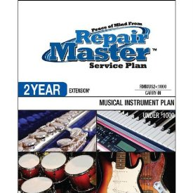 2-YR EXT MUSICAL INSTRUMENTS UNDER $1000