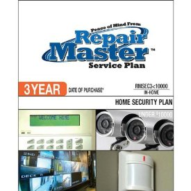 3-YR DOP HOME SECURITY SYSTEM UNDER $10000