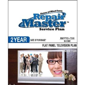 2-YR DOP FLAT PANEL TV PLAN UNDER $7500