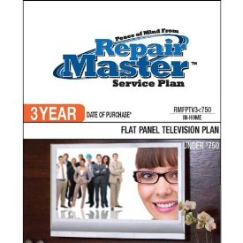 3-YR DOP FLAT PANEL TV PLAN UNDER $750