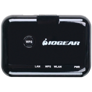 Iogear IEEE 802.11n RJ-45 - Wi-Fi Adapter - 300 Mbps - External