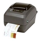 Zebra GX430t Direct Thermal/Thermal Transfer Printer - Monochrome - Desktop - Label Print - 4 in/s Mono - 300 dpi - USB